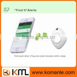 Hot sell triangle anti-lost remote wireless bluetooth tracker, bluetooth alarm wallet tracker key finder baby finder