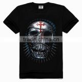 OEM 3d Printing Factory High quality old skull t-shirt, fashion boys beautiful shirts, fashion shirts for boys