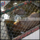 The enclosures, Playground, grassland used chain link fence, Vinyl coated steel China Link Fence Fabric