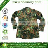 BDU Germany style Cotton and Nylon material Camouflage battle dress uniform Jackets and pants style