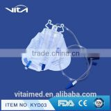 High Quality Medical Disposable Drainage Urine Bag for adult use KYD03