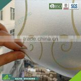 BSCI factory audit non-toxic vinyl pvc new design decorative adhesive bathroom window privacy film