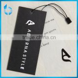 A set of hangtag for women's underwear including one black card tag,one Semi transparent PVC tag with string seal tag