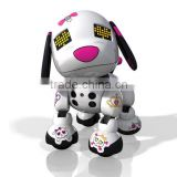 Most Popular Robot Dog Kids Electronic Light Toys/Custom Made Robot Animals Music Light Toys/OEM Design Plastic Light Toys