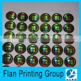 anti-fake label hologram sticker, customized hologram sticker, laser anti-counterfeit labels