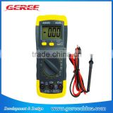 Hot selling Digital LCD 500V AC DC 10A 2M Voltmeter Ammeter Ohmmeter Multimeter current voltage OMH Tester Meter