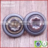 New design metal snap buttons with name brand logo for coats 25mm