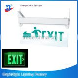 Bright Green EXIT store LED shop Sign Emergency Light neon Salida Safety Escape