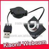 High Quality Mini 8.0MP USB webcam For PC Laptop Retractable USB 2.0 Web camera for Computer