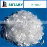 HOT SALES!! PP Fiber (Polypropylene fiber) for wall putty (skim coat)-construction use- SETAKY