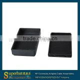 "plastic project box Enclosure -2.30""*1.39""*0.61""(L*W*H) Black plastic gift box"