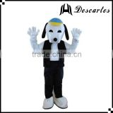 Movie cartoon plush snoopy costume, adult snoopy walking costume for festival performance