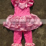New design! child pettiskirt with pant in set