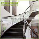 TOP Brand Factory Frameless ASTM decking stainless steel architectural glass balustrade