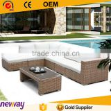 Factory Price Good Quality Sectional Sofa Outdoor Sofa Set Rattan Furniture                                                                         Quality Choice
