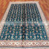 hand knotted pure silk carpet persian carpet turkish carpet iranian carpet guangzhou rug