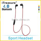 iTreasure Hot Selling Stereo Bluetooth Headphone with Mp3 Player With CSR8635 High-end Chipset