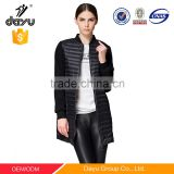 Wholesale maxi winter coat women winter down jacket quilted parka down garments