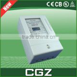 LCD 10A 70A meter high precision prepaid electricity meters more than 15 years Service life
