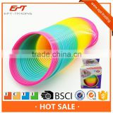 Magic slinky rainbow spring toys for promotion