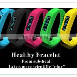 SH01 Intelligent OLED Motion Healthy Bracelet Bluetooth 2.1 Watch with Pedometer / Sleep Monitoring Compatible with Android