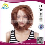 2014 New product japanese short glueless lace wig