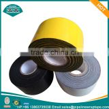 BLACK WHITE OR YELLOW COLOR gas pipeline wrapping tape with butyl rubber or asphlat as adhesive