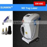 Mongolian Spots Removal Sales Promotion!ND YAG Tattoo Laser Beauty Machine (SW-69E) Q Switched Nd Yag Laser Tattoo Removal Machine