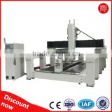 High precision, good quality 5 Axis car mold /wood mold/Vanishing mode CNC machining center