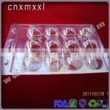6, 12-packing clear Golf ball blister plastic packaging tray and trays