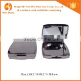 With Mirror Tawny Electroplating Empty Blush Plastic Powder Container