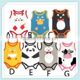 Summer Baby Girls & Boys Kids Cotton Baby Romper Summer Animal Shapes Jumpsuit Body For Children Clothes