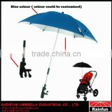 Colourful baby sun umbrella for baby stroller adjustable umbrella