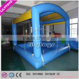 Lilytoys new style inflatable swimming item/swimming pool inflatable with tent/special design pool