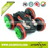 2016 new item! Amphibious rc stunt car 360 degree spinning stunt toy for kid