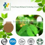 Food Grade Mimosa pudica extact powder,mimosa hostilis MOQ 1kg,natural mimosa hostilis root bark extract powder