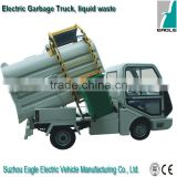 Electric collection truck for liquid waste , CE approved