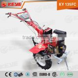 High Torque High Power 10hp Diesel Power Tiller With Agricultural Mini Power Tiller Trailer