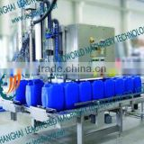 automatic big barrel oil weighing filling machine