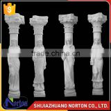 architectural decoration marble roman column corinthian white marble column NTMF-C257S