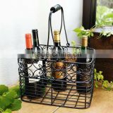 6 BOTTLES WINE HOLDER