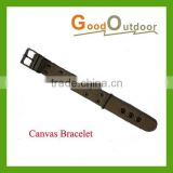 BL03-1A Fashion Thickened Wearproof Canvas Bracelet