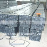 Galvanized fence Steel tube SQUARE RECTANGULAR