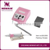 Electric friendly nail art filing machine for nail manicures