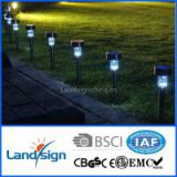 LED garden lights wholesale promotion new solar lights series solar panel garden light