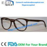 Latest fashion in eyeglasses acetate frame china supplier Brand optical frame prescription eyewear glasses