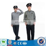2015 New style design security guard uniform / security guard uniform color /security guard uniform with quality supplies