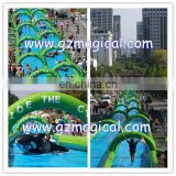 outdoor long inflatable water slide for sale inflatable water slide inflatable water games
