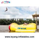 0.9mm PVC Tarpaulin Inflatable Water Jump Catapult For Water Park