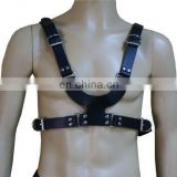 HMB-428D LEATHER BODY CHEST HARNESS COSTUME GAY WEAR COSTUME WEAR